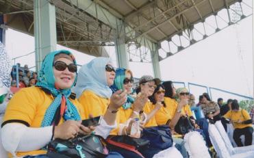 Pada tanggal 12 Agustus 2016 Ketua Bhayangkari daerah Sumbar Ny. Indri Basarudin beserta pengurus daerah Bhayangkari sumbar nonton bareng sepak bola untuk mendukung team Bhayangkara club Surabaya melawan team Semen Padang FC di Stadion GOR Agus Salim Padang Sumatera Barat.