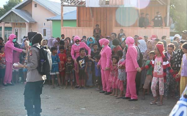Kunjungan ke korban gempa di Plu, Donggla dan Dili d