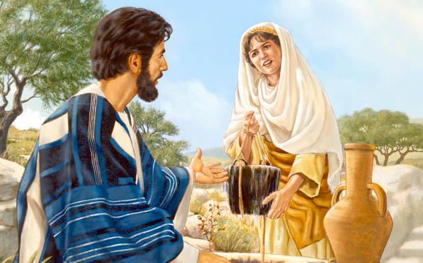 kristus dan wanita air