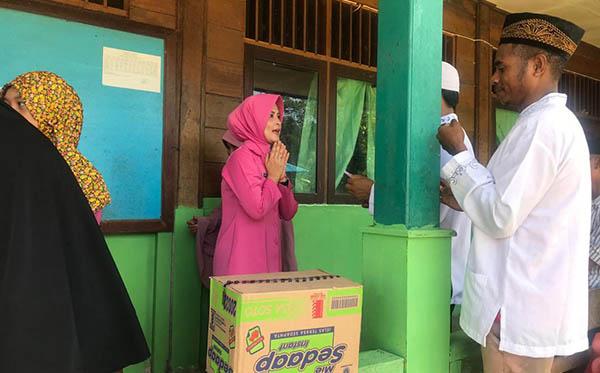 Anjangsana Safari Ramadhan Bhayangkari PC Teluk Bintuni 2019 c