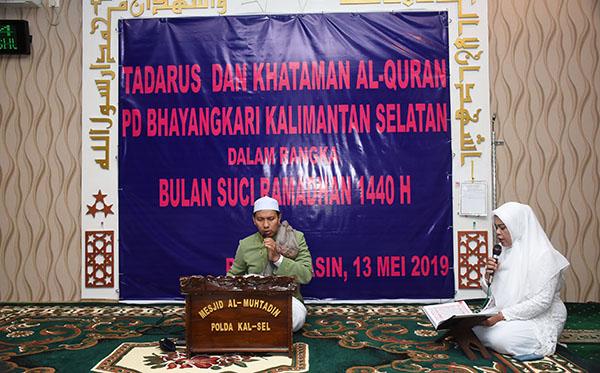 Tadarusan Dan Khataman Al-Qur'an PD Kalimantan Selatan 2019 b