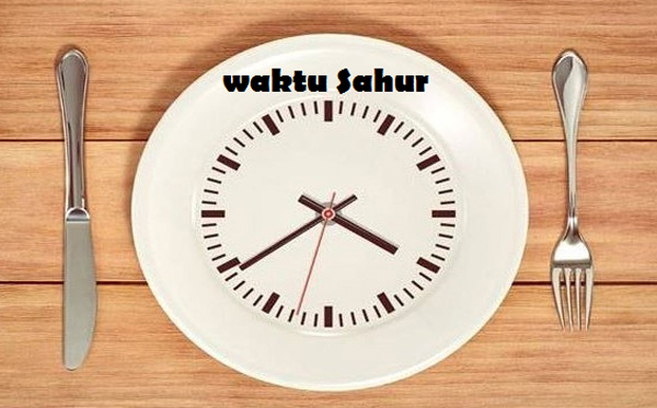 sahur time