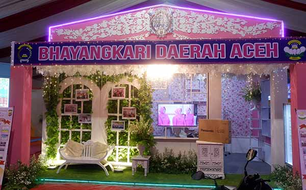 Pembukaan Aceh Police Expo III a