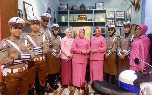 Pembukaan Aceh Police Expo III b
