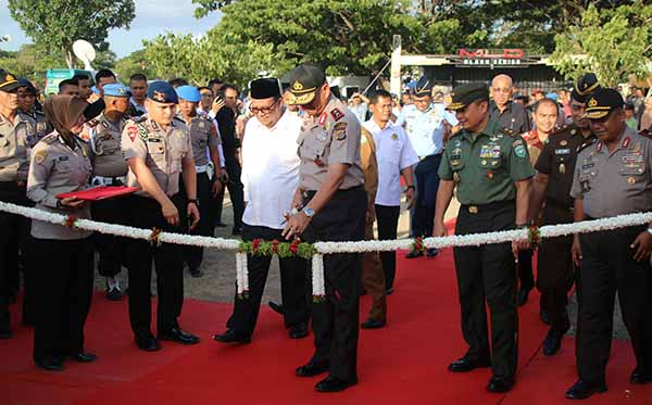 Pembukaan Aceh Police Expo III e