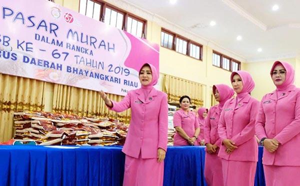 Pasar Murah Bhayangkari Daerah Riau 2019 c