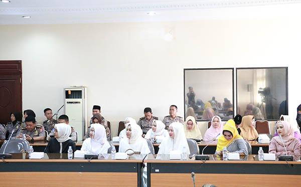 Pelepasan Jamaah Haji Personil Polda Banten 2019 b
