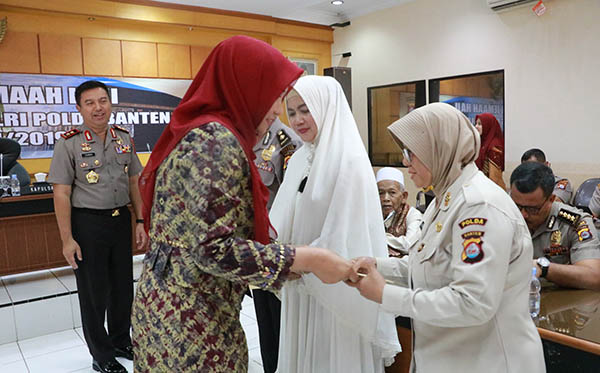 Pelepasan Jamaah Haji Personil Polda Banten 2019 c