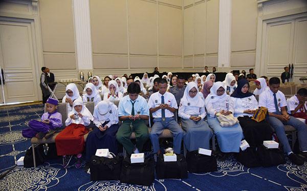 doa bersama dan silaturahmi lintas angkatan 2019 b