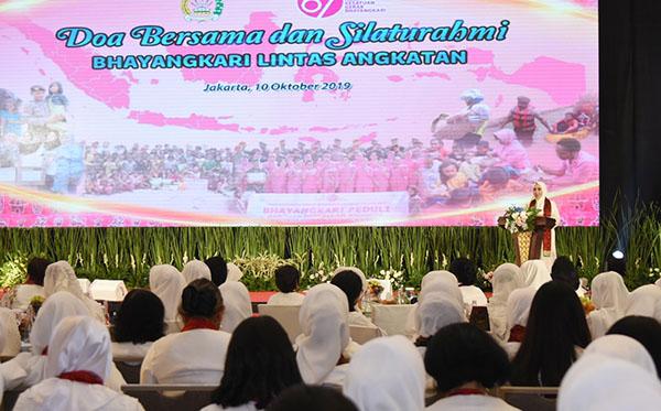 doa bersama dan silaturahmi lintas angkatan 2019 d
