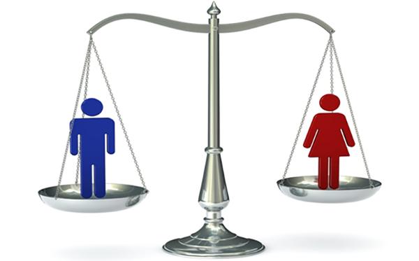 wanita dan pria a