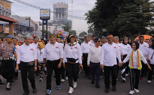 Jalan Sehat Keluarga PD Lampung b