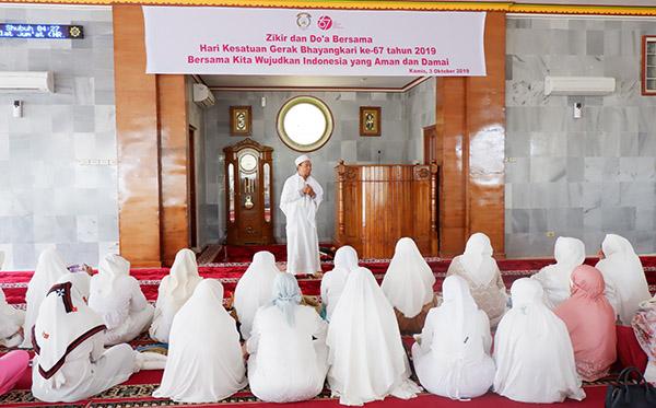 dzikir dan doa dalam rangka hkgb pd lampung c