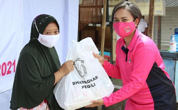 Bakti Sosial Bhayangkari Peduli di Sukabumi_10
