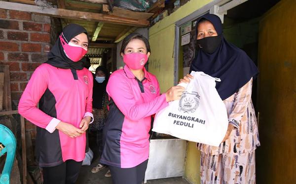 Bakti Sosial Bhayangkari Peduli di Sukabumi_8
