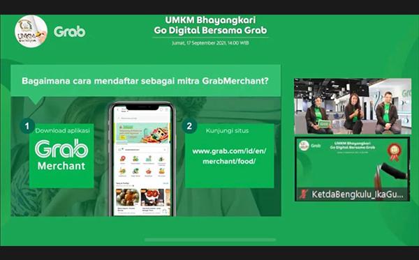 UMKM Bhayangkari Go Digital Bersama Grab_1