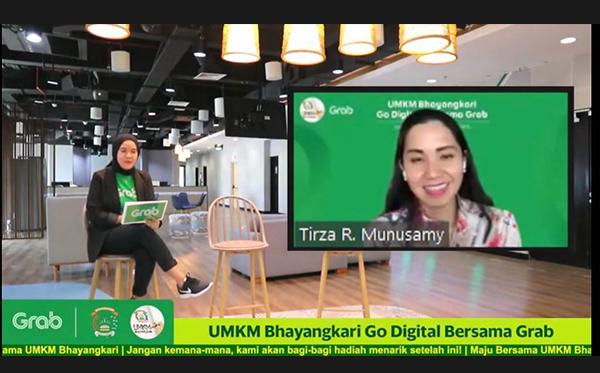 UMKM Bhayangkari Go Digital Bersama Grab_2