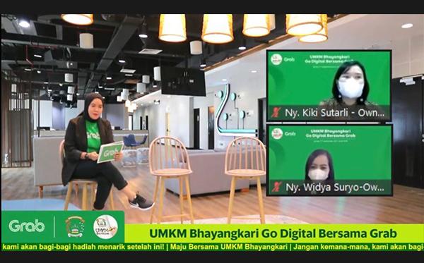 UMKM Bhayangkari Go Digital Bersama Grab_3