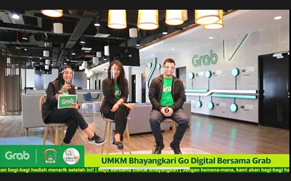 UMKM Bhayangkari Go Digital Bersama Grab_6